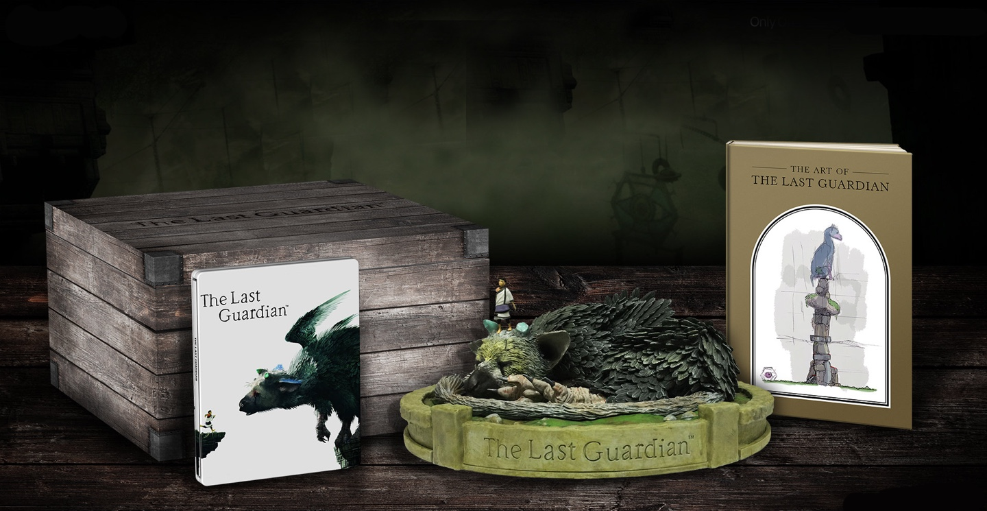 The last guardian game ps4 playstation collectors edition gumiabroncs Images