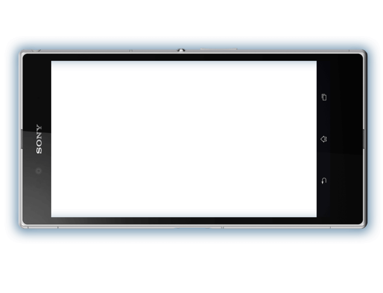 PlayStation Vue playing on a smartphone