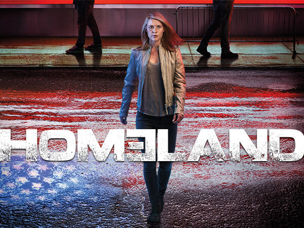 HOMELAND - SHOWTIME Drama with PS Vue